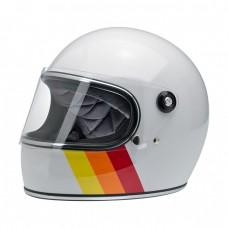 Biltwell Gringo S White Tri-Stripe S